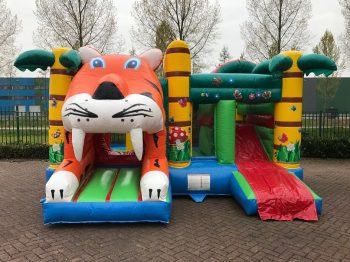Bouncy castle multiplay tiger