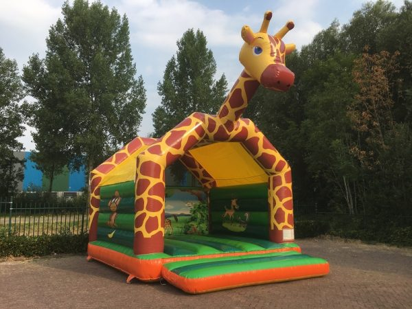 Bouncer Super Giraffe with roof