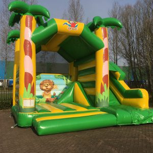 Bouncer Multifun Jungle with slide
