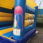 Bouncing castles with roof for sale