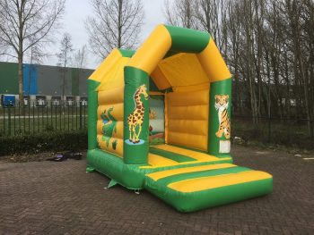 Bouncer Mini Jungle with roof for sale