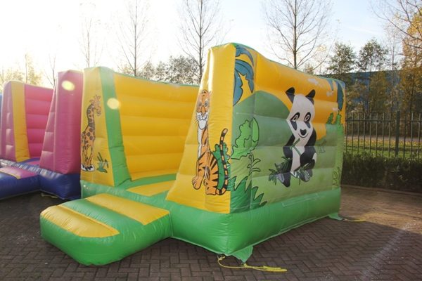 Bouncy castle mini Jungle theme