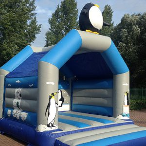 Bouncer standard penguin with roof