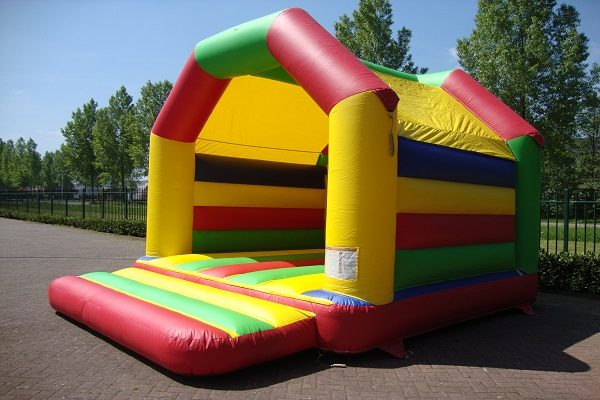 Inflatable rainbow with roof Jump Factory