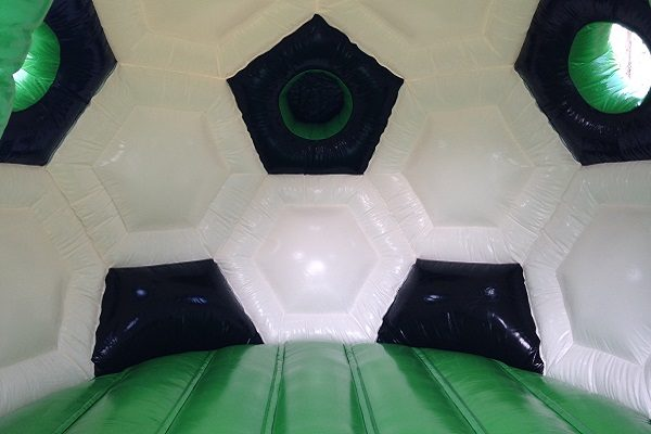 Bouncer standard soccer with roof