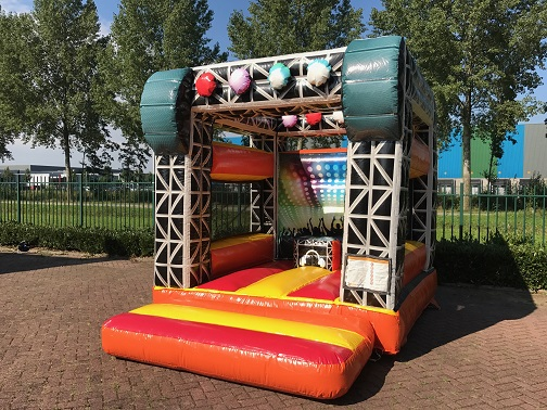 Jump Factory bounce castle mini disco