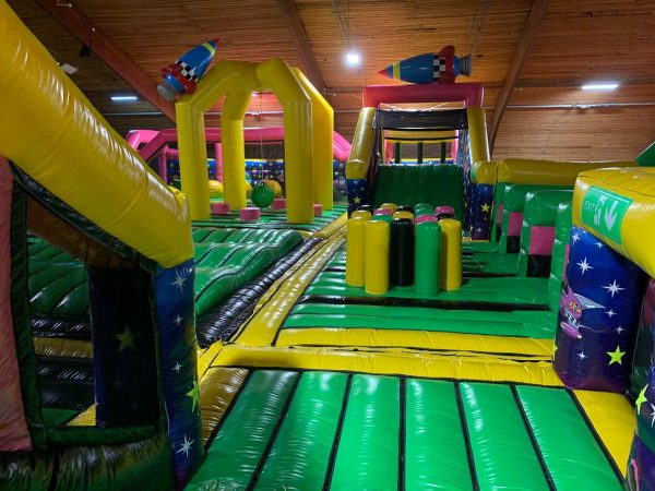 Inflatable park Jump Factory