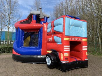 Bouncer Donut Slide Firetruck