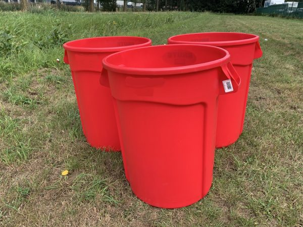 Red bin for Beerpong XXL