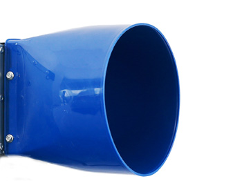 Mouth for blower blue